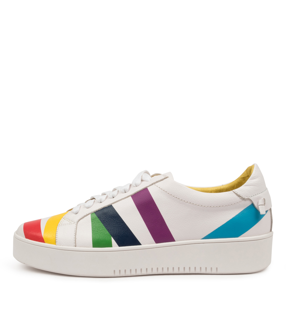 Buy Top End Lenny To White Bright Sneakers online with free shipping