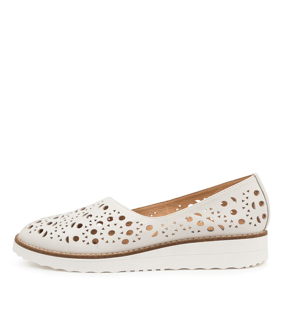 Buy Top End Ohdeary To White Flats online with free shipping