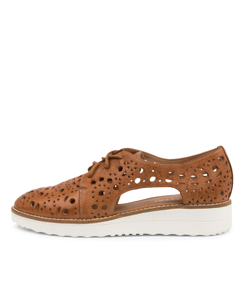 Buy Top End Orson To Dk Tan Flats online with free shipping