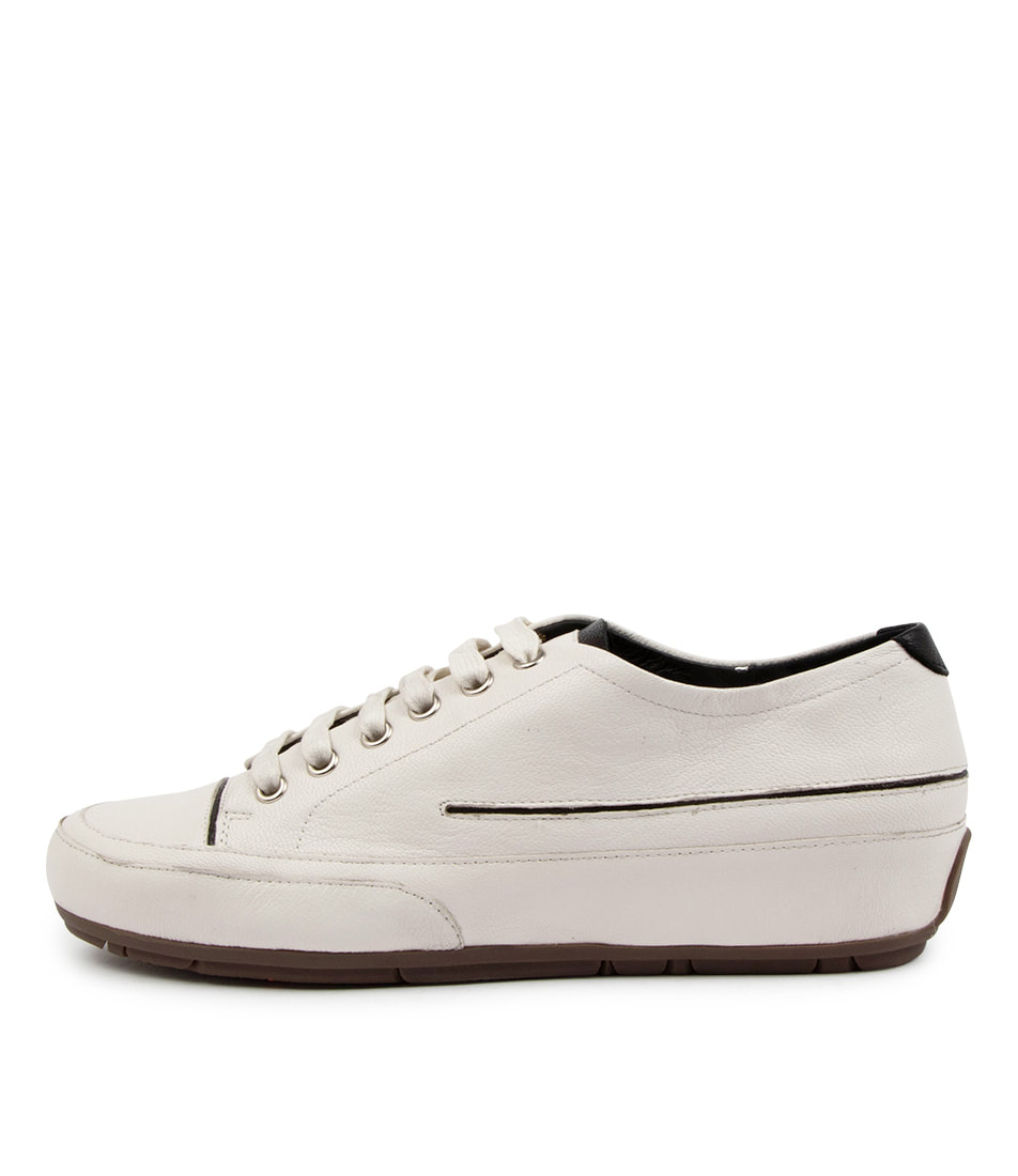 Buy Top End Alnan To White Black Sneakers online with free shipping