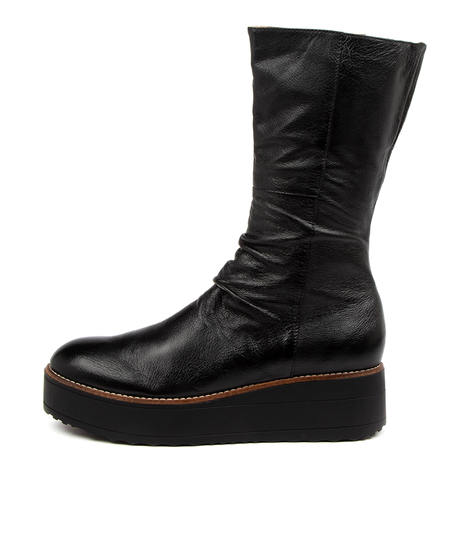 Buy Top End Nani To Black Sole Ankle Boots online with free shipping
