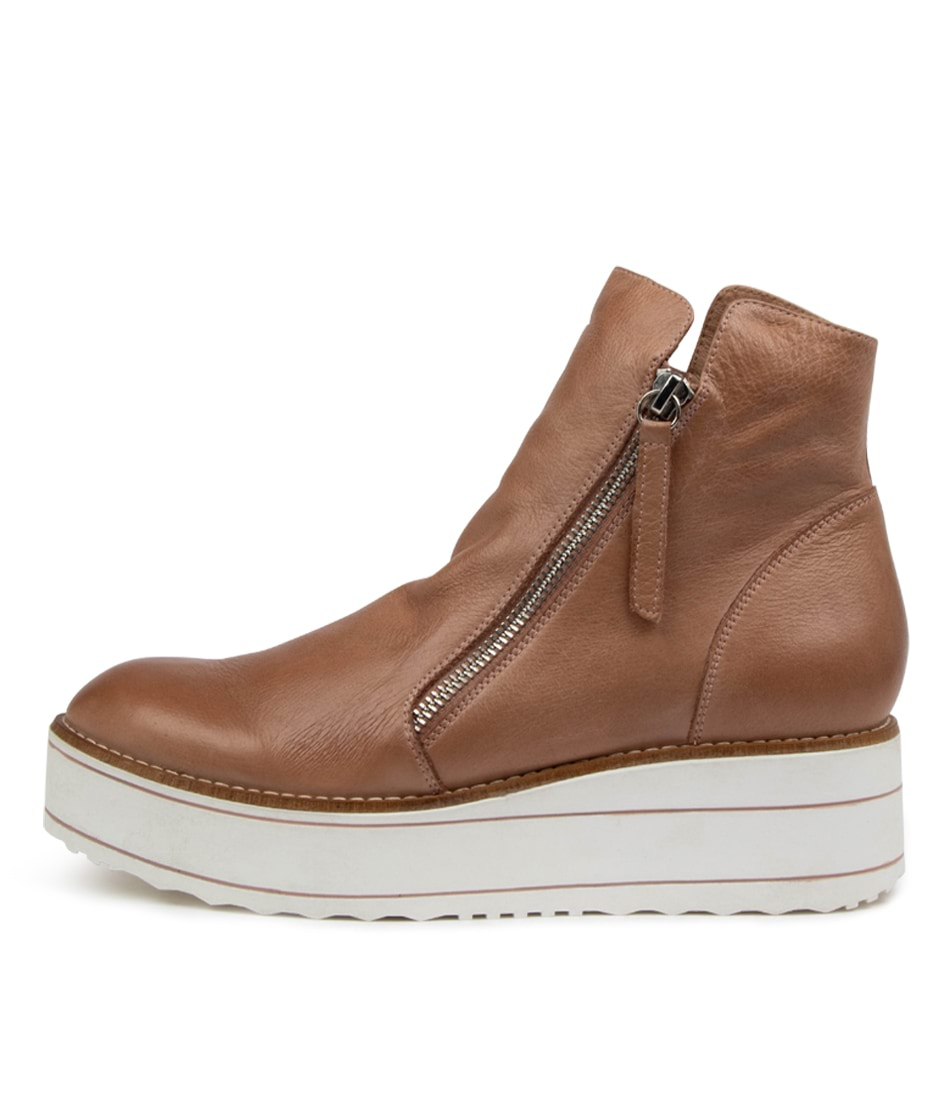 Buy Top End Nene To Warm Rose White Sole Ankle Boots online with free shipping