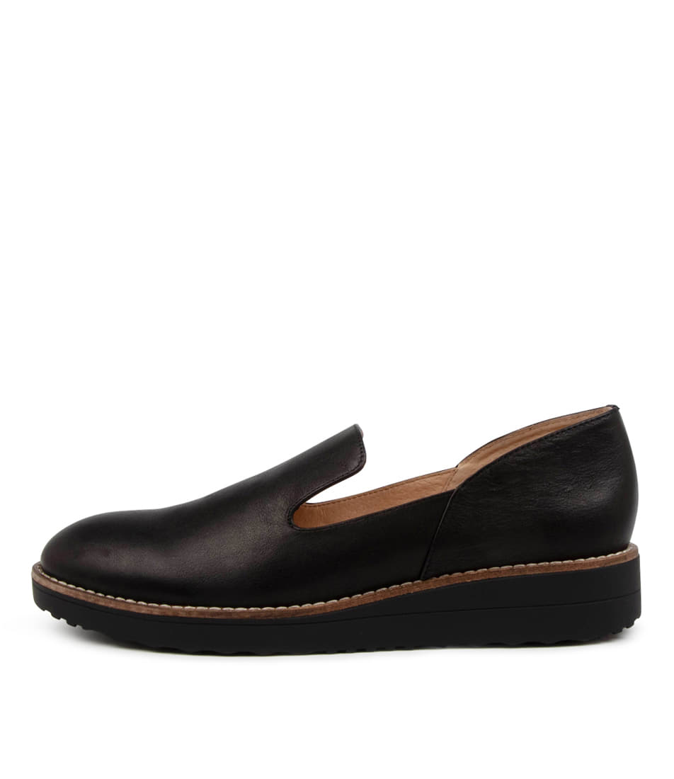 Buy Top End Ohad To Black Sole Flats online with free shipping