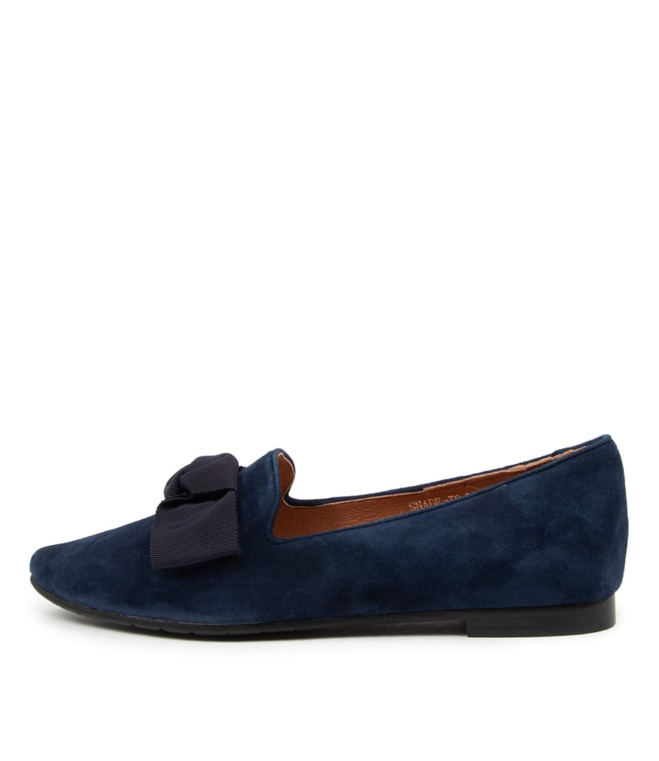 Buy Top End Shade To Navy Flats online with free shipping