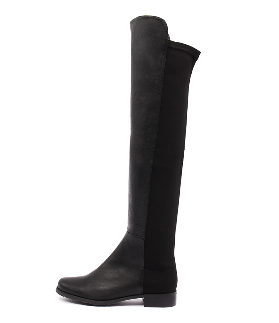 Tony Bianco Panache Black Long Boots