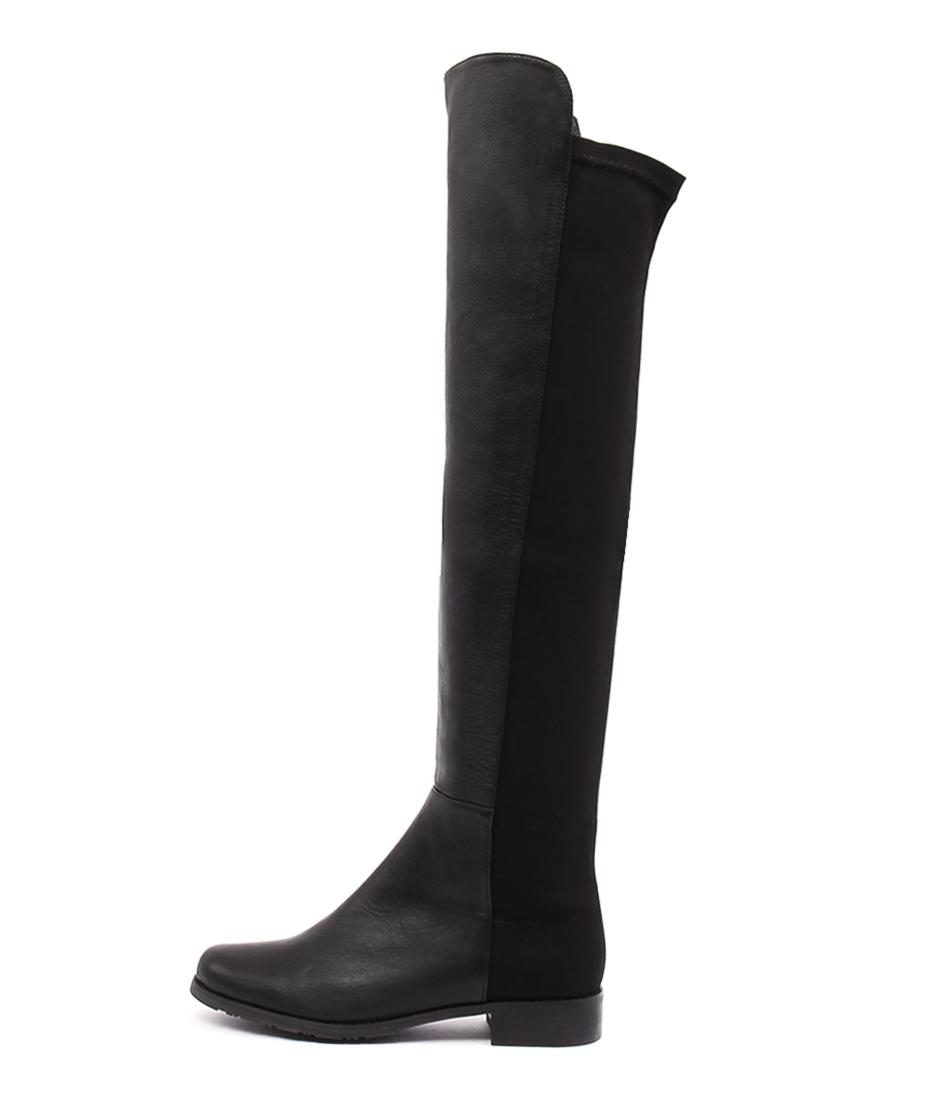 Tony Bianco Panache Black Casual Long Boots