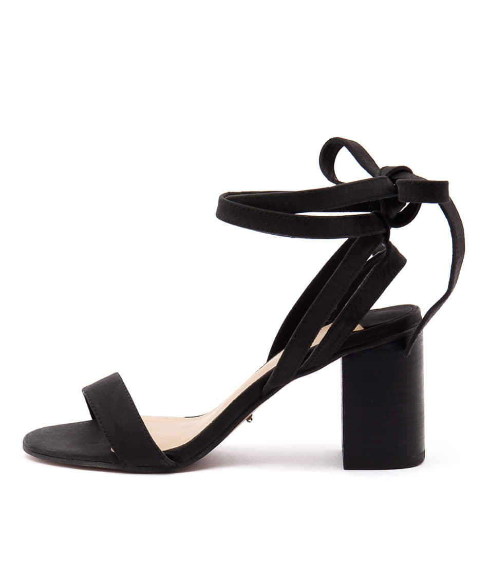 Tony Bianco Fortune Black Sandals