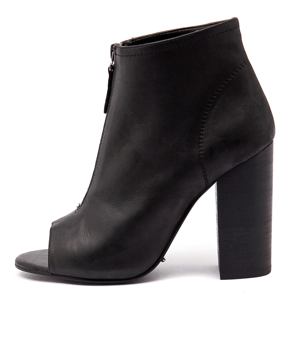Tony Bianco Maize Black Boots