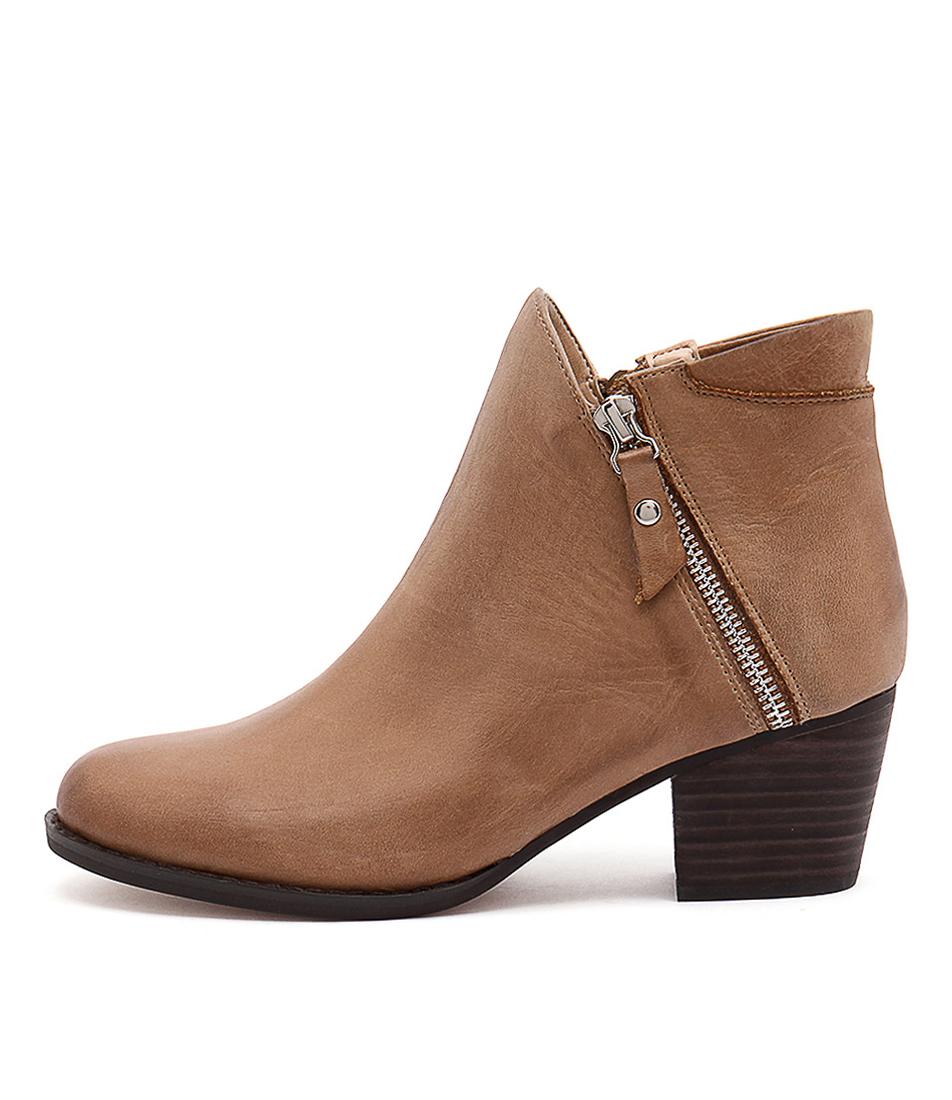Tony Bianco Dejar Rust Choc Boots