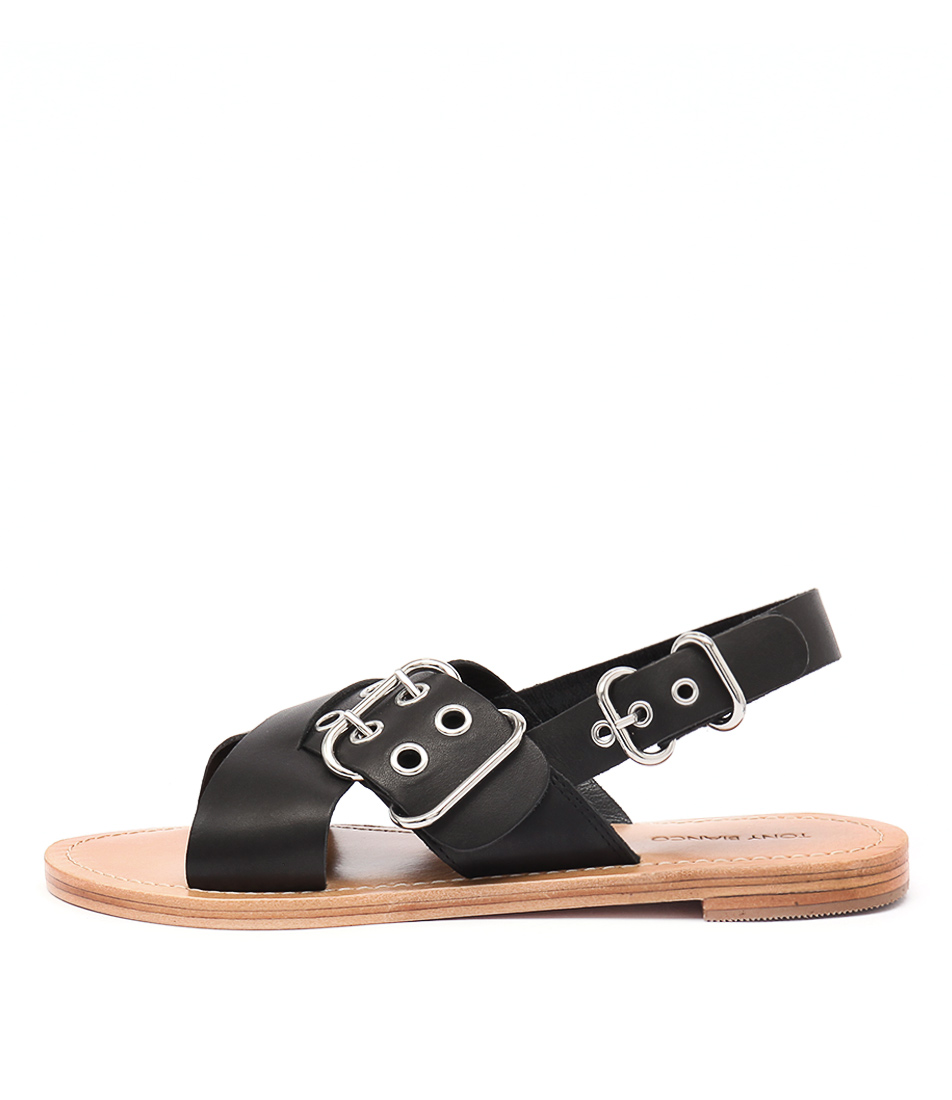Tony Bianco Tiga Black Sandals