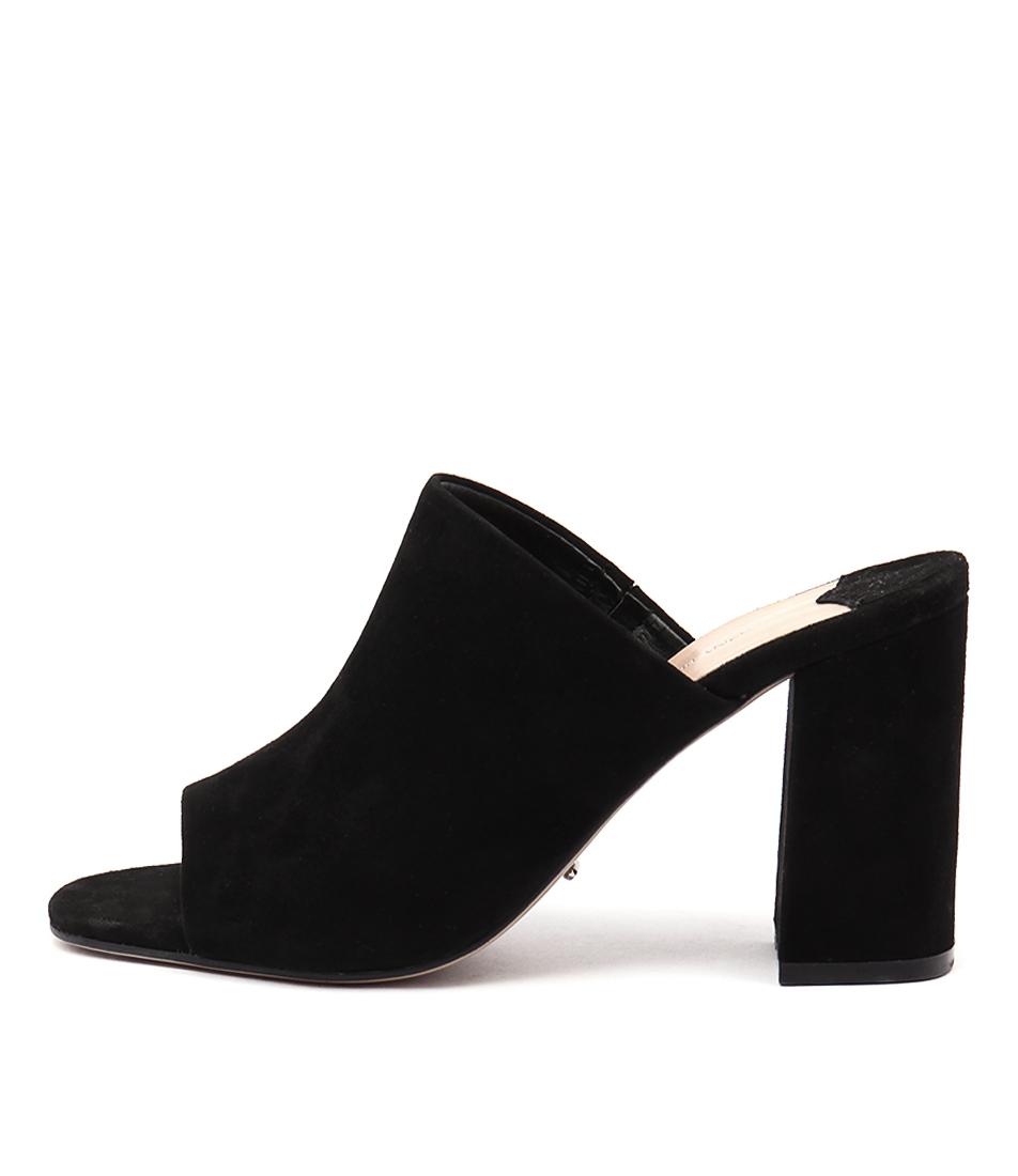 Tony Bianco Carabou Black Casual Heeled Sandals