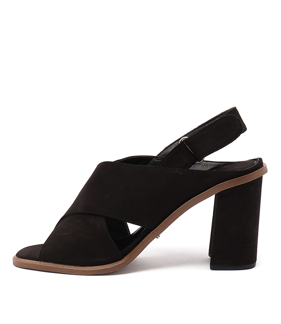 Tony Bianco Cactus Black Sandals