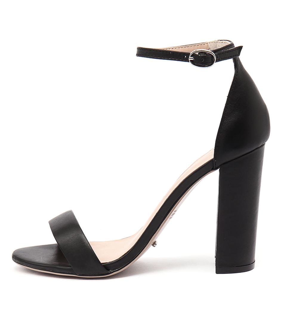 Tony Bianco Kokomo Black Dress Heeled Sandals