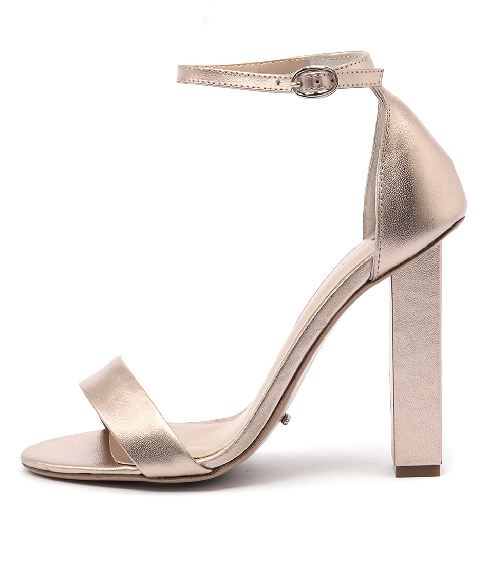 Tony Bianco Kashmir Rose Gold Sandals