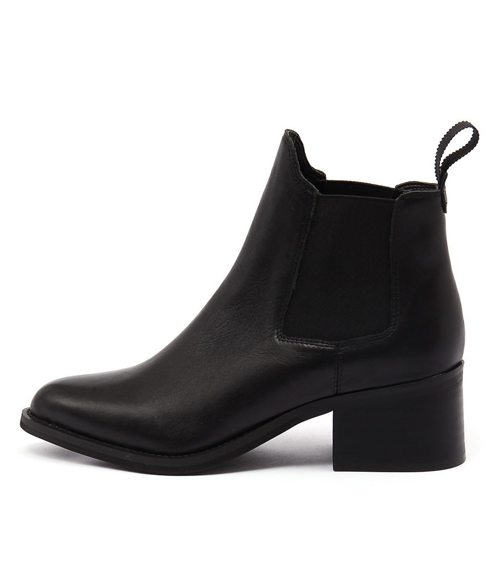 Tony Bianco Fraya Black Ankle Boots