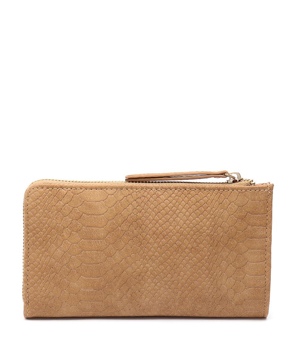 Tony Bianco 6549 Camel Wallet Bags