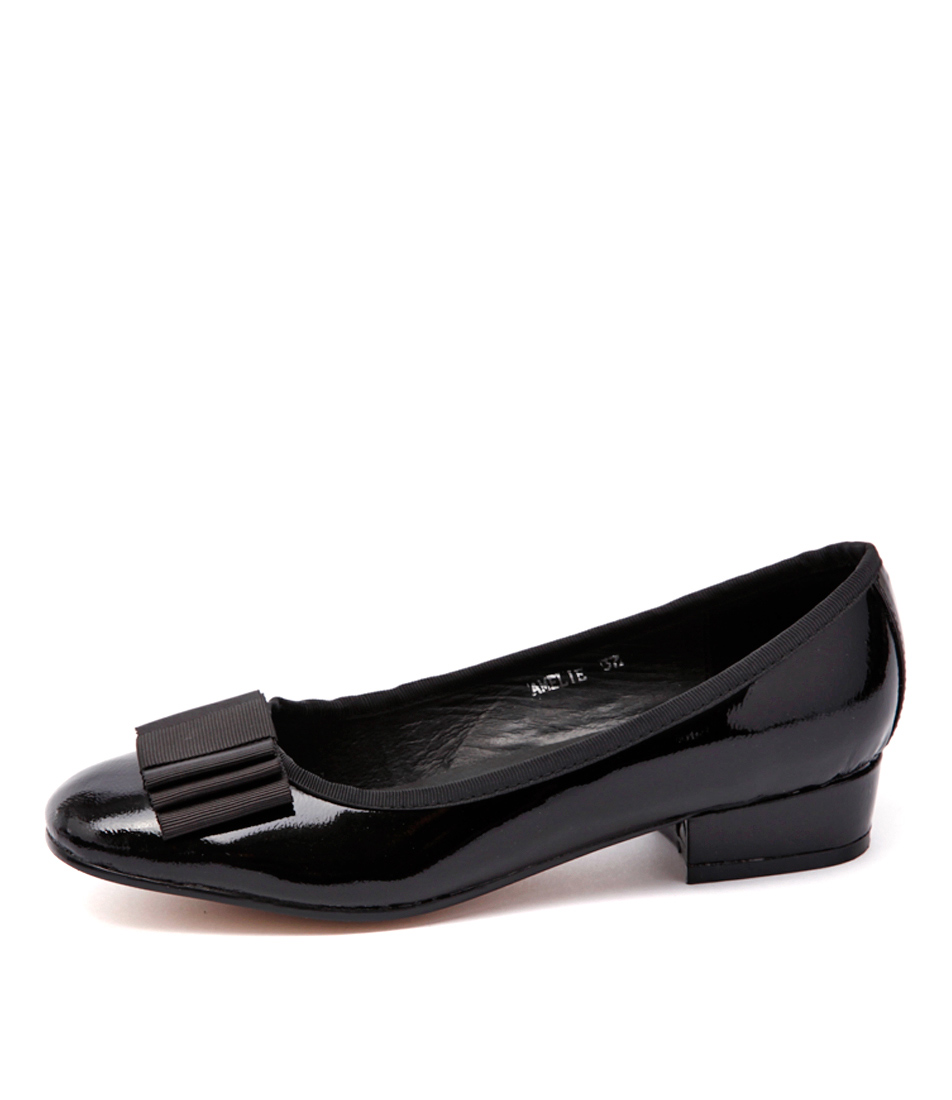 Top End Amelie Black Shoes