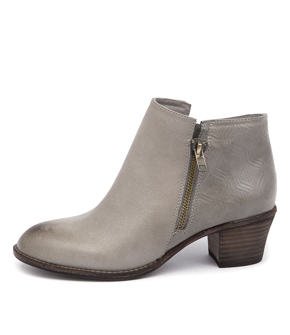 Top End Indy Grey Print Casual Ankle Boots buy  online