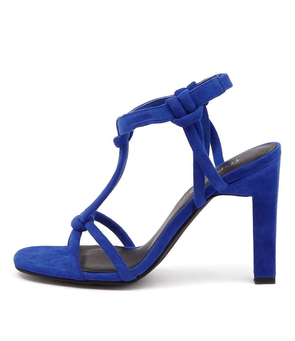 Top End Merry Cobalt Casual Heeled Sandals