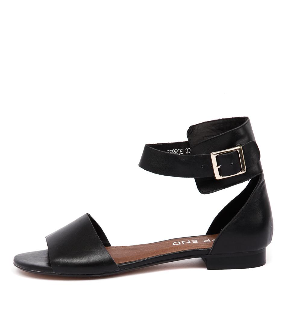 Top End Perrie Black Sandals