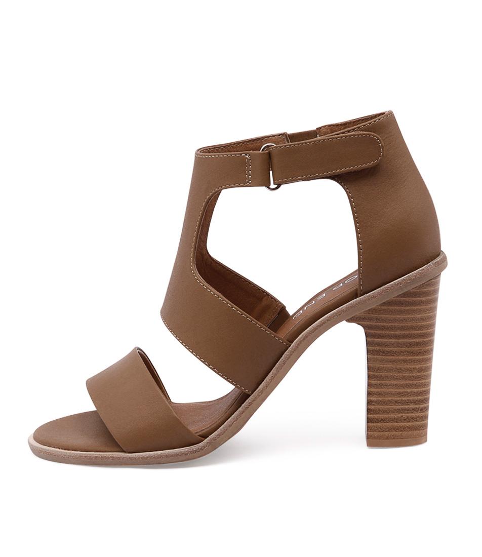 Top End Sanga Tan Natural Sta Sandals