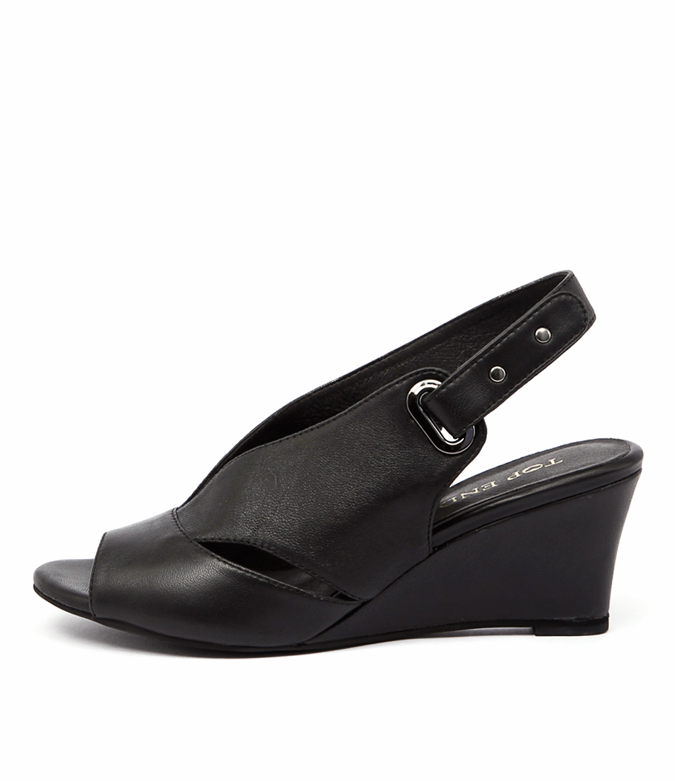 Top End Unley Black Sandals