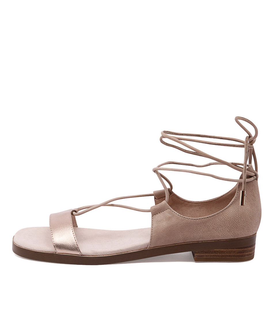 buy Top End Zippo Rose Gold Nude Sandals shop Top End Sandals online