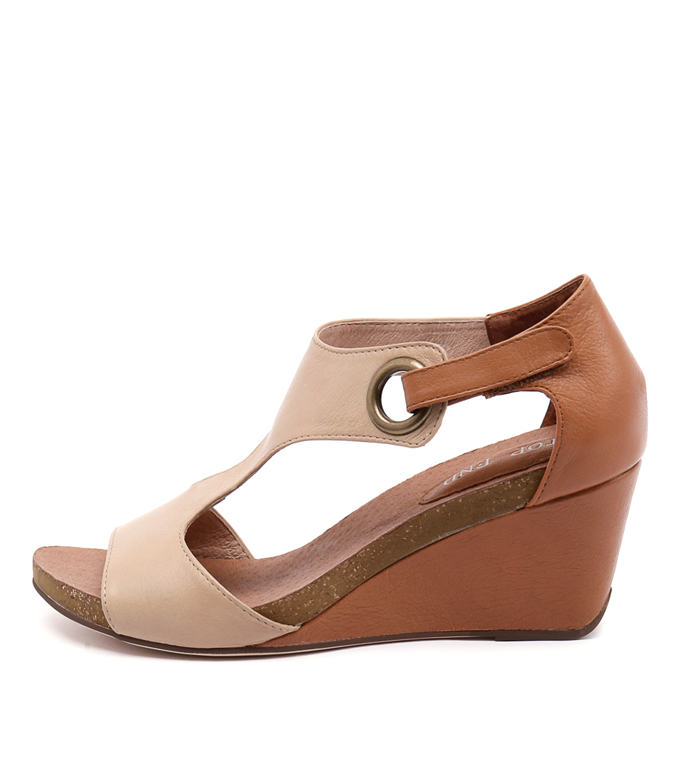 Photo of Top End Rome Camel Tan Heeled Sandals womens shoes