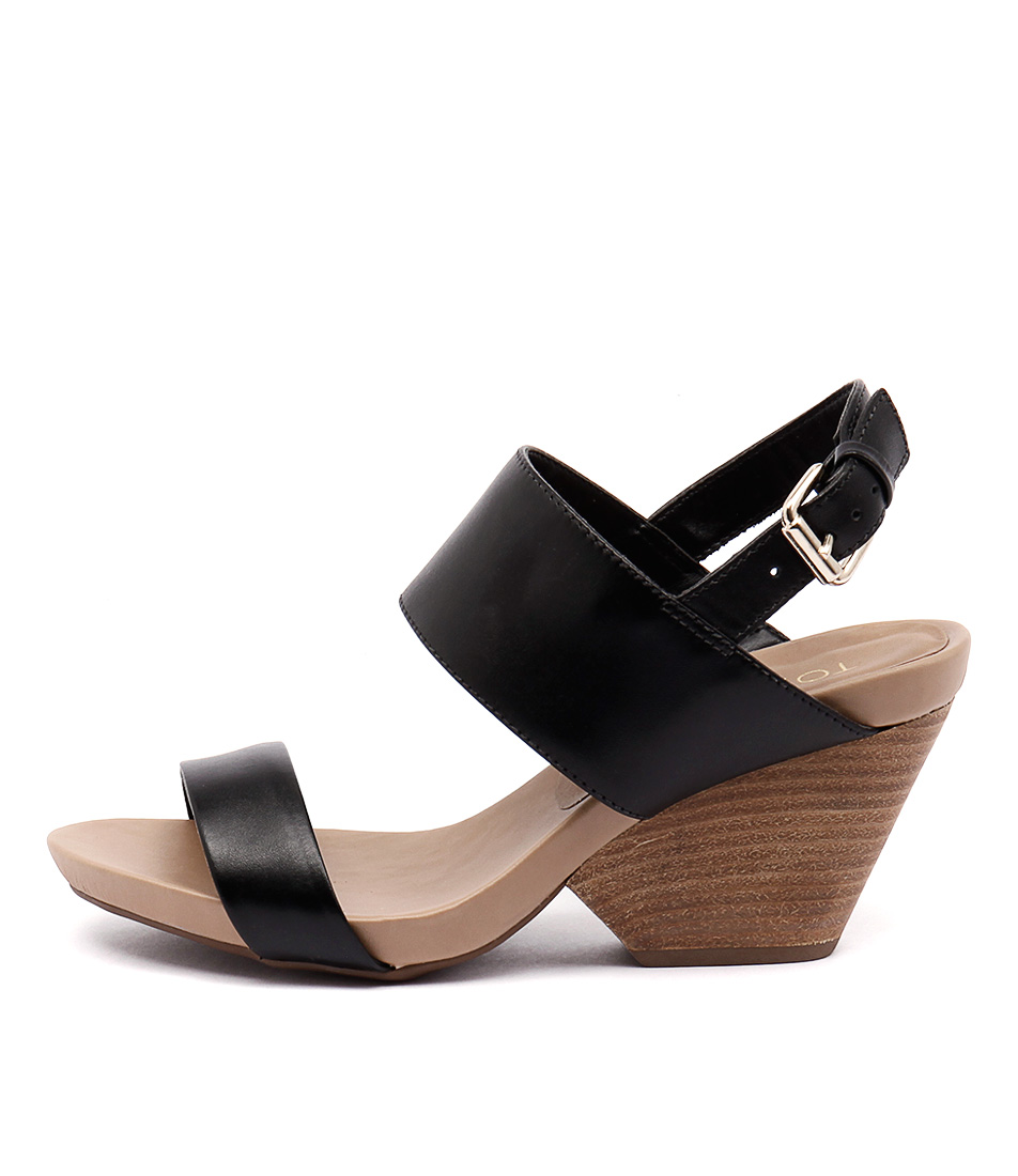 Top End Ronaldo Preto Black Nat Sandals