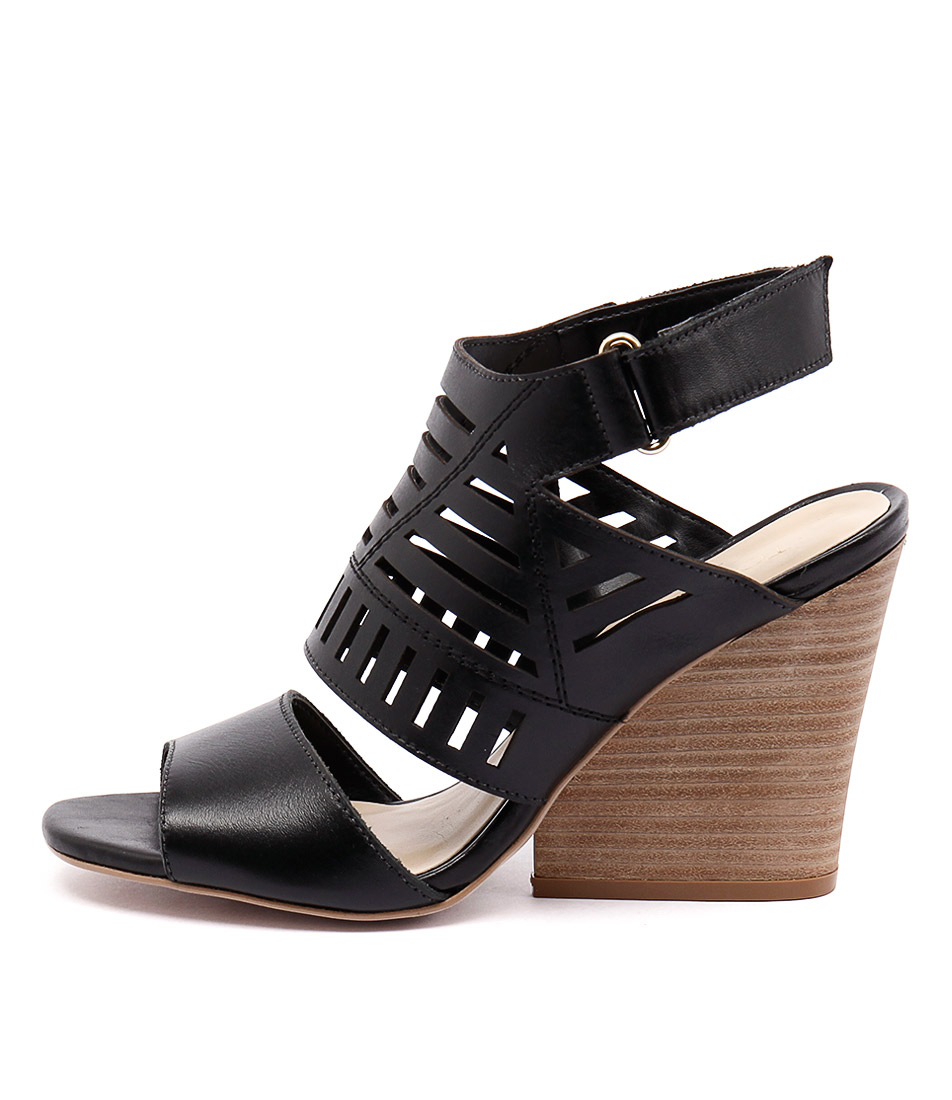 Top End Neymar Preto Black Nat Casual Heeled Sandals