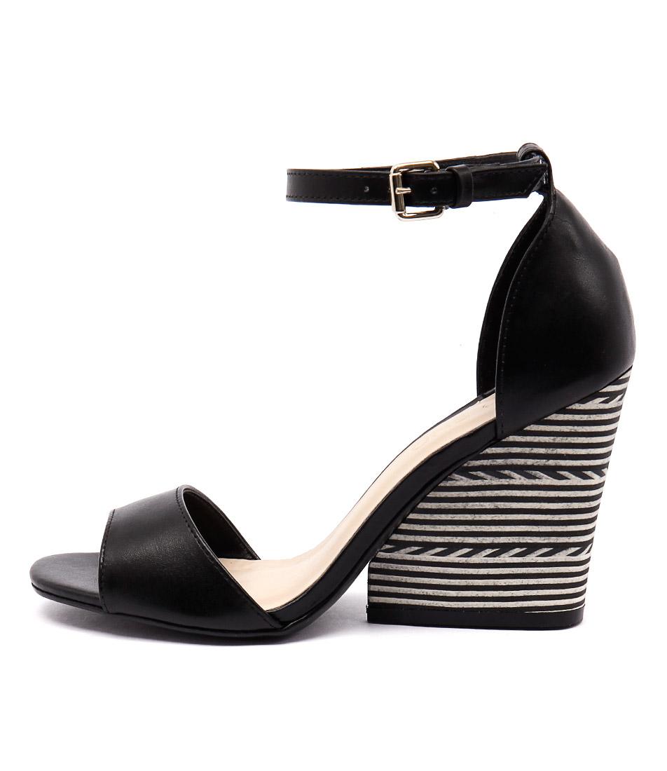 Top End Nele Preto Black Sandals