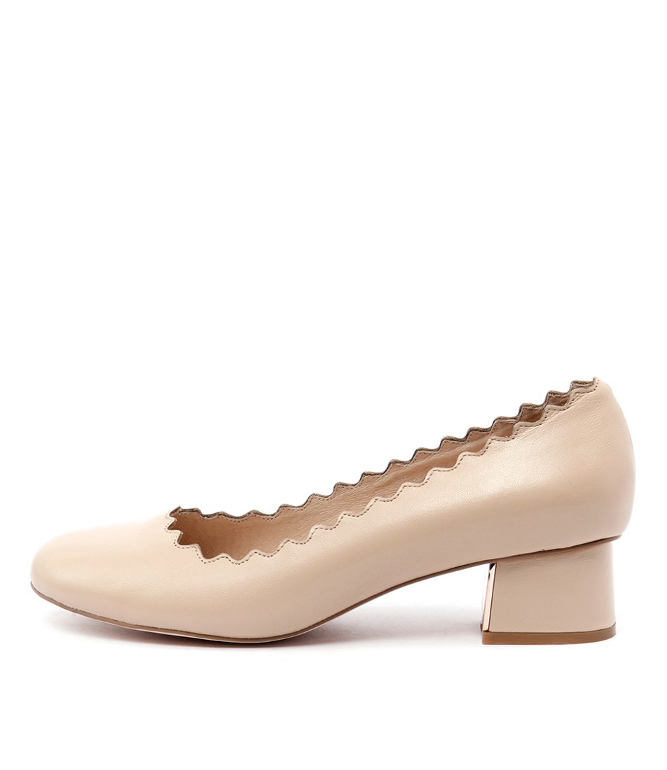 Top End Alfa Nude  Heels