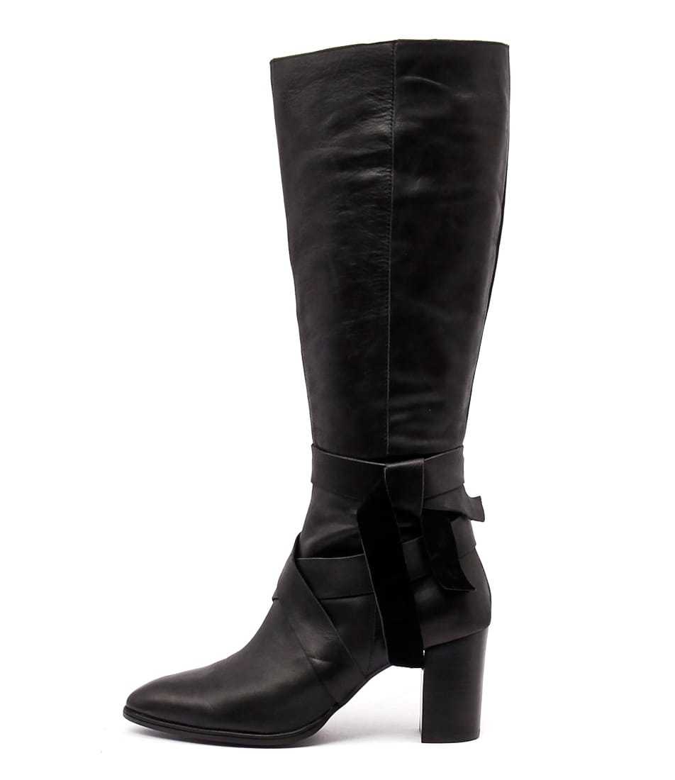 Top End Aminx Black Long Boots