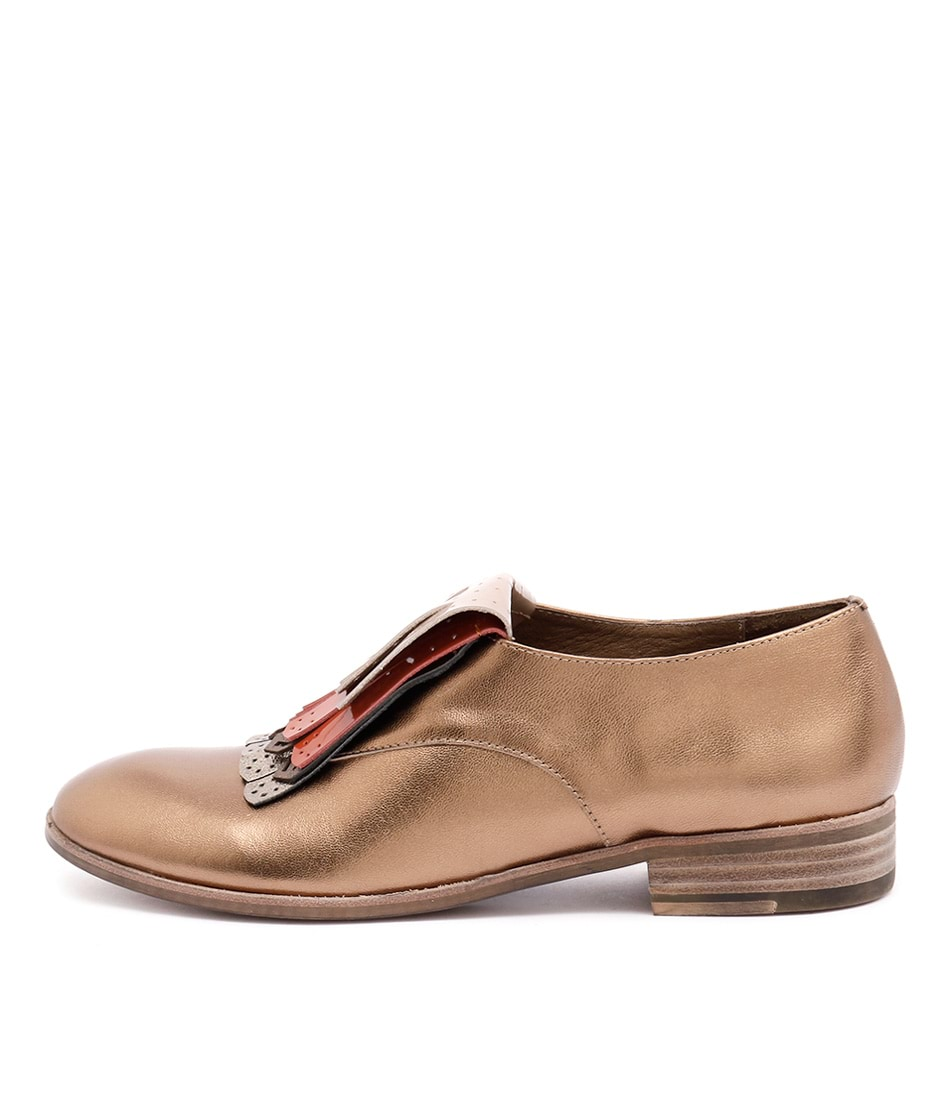 Top End Casio Bronze Flat Shoes