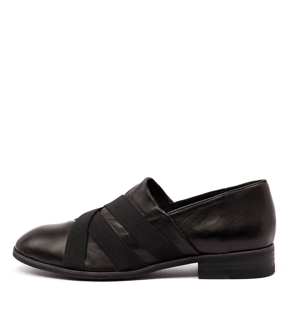 Top End Casius Black Flats