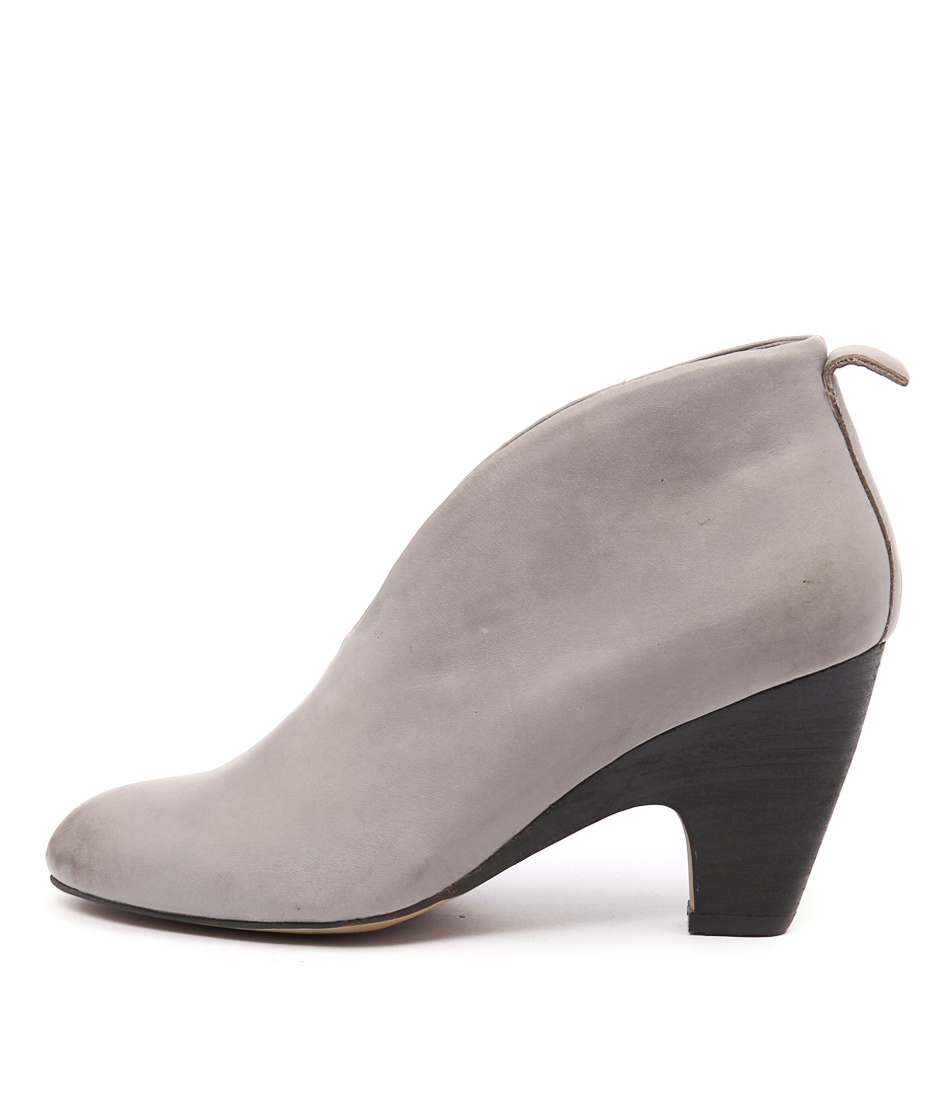 Top End Catfight Grey High Heels Shoes