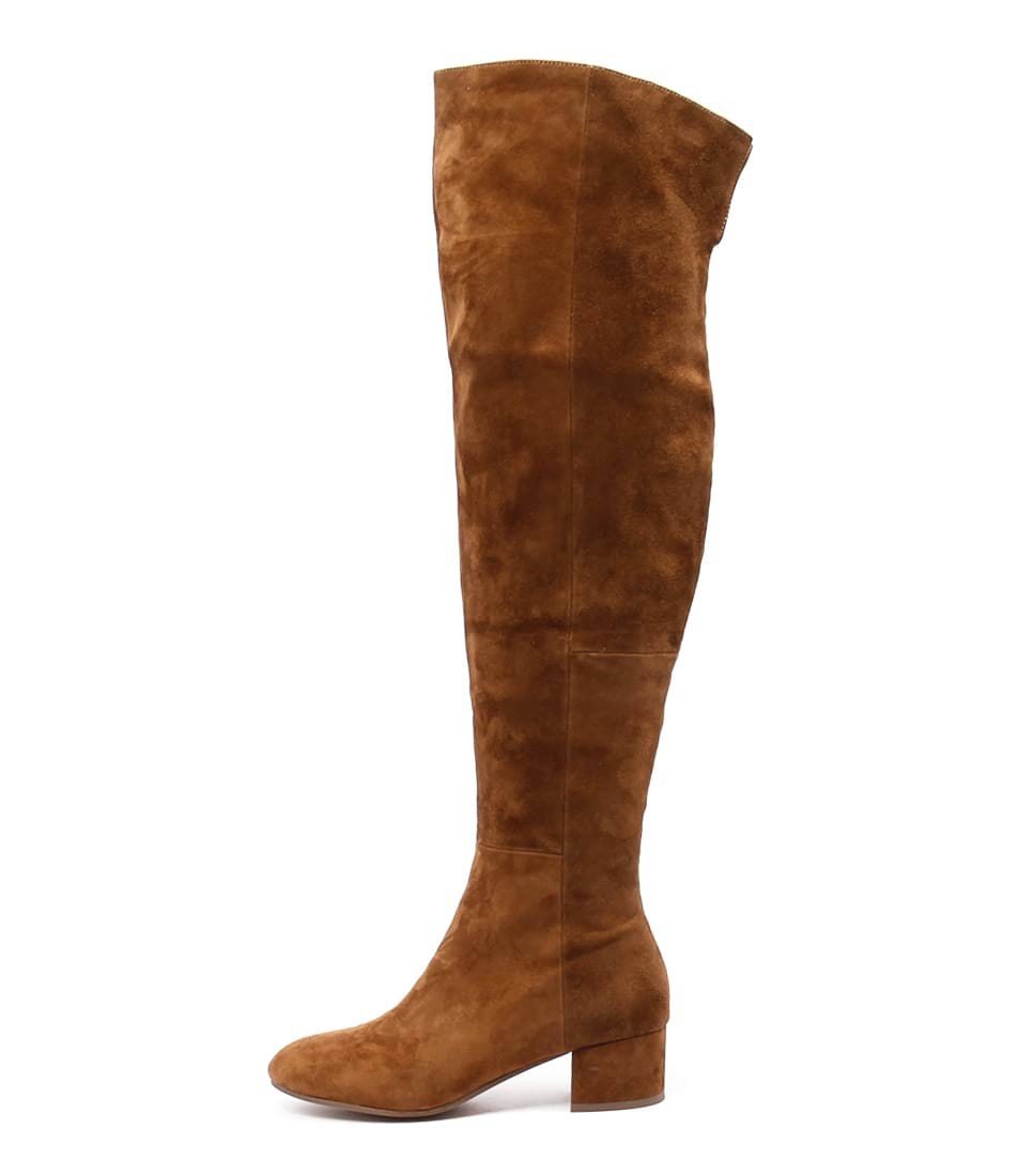 Top End Gilda Tan Long Boots