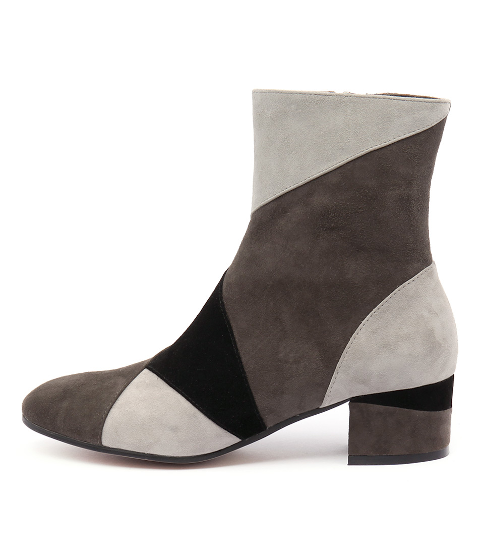 Top End Gaki Grey Multi Boots