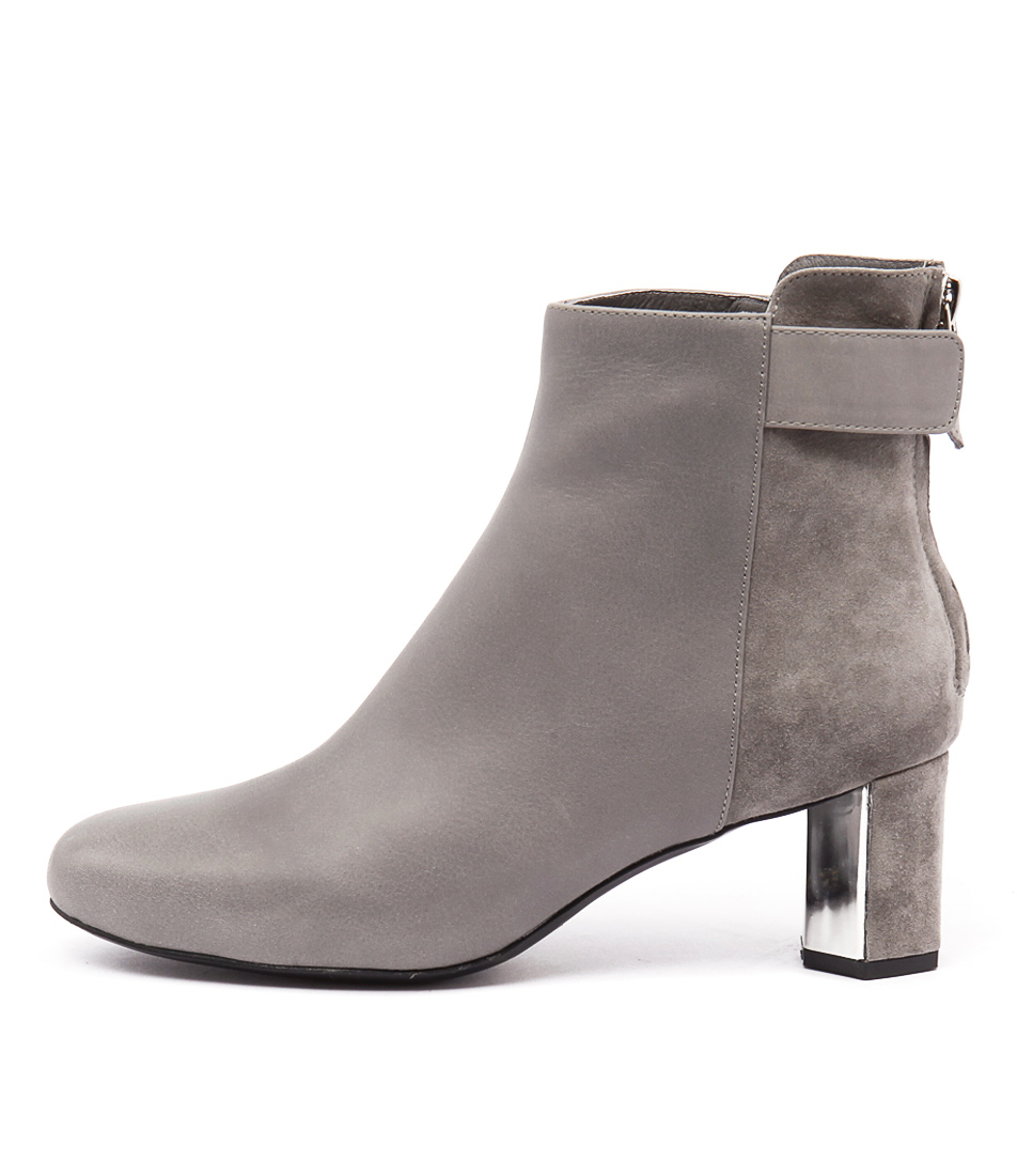 Top End Kakana Grey Grey Silve Boots