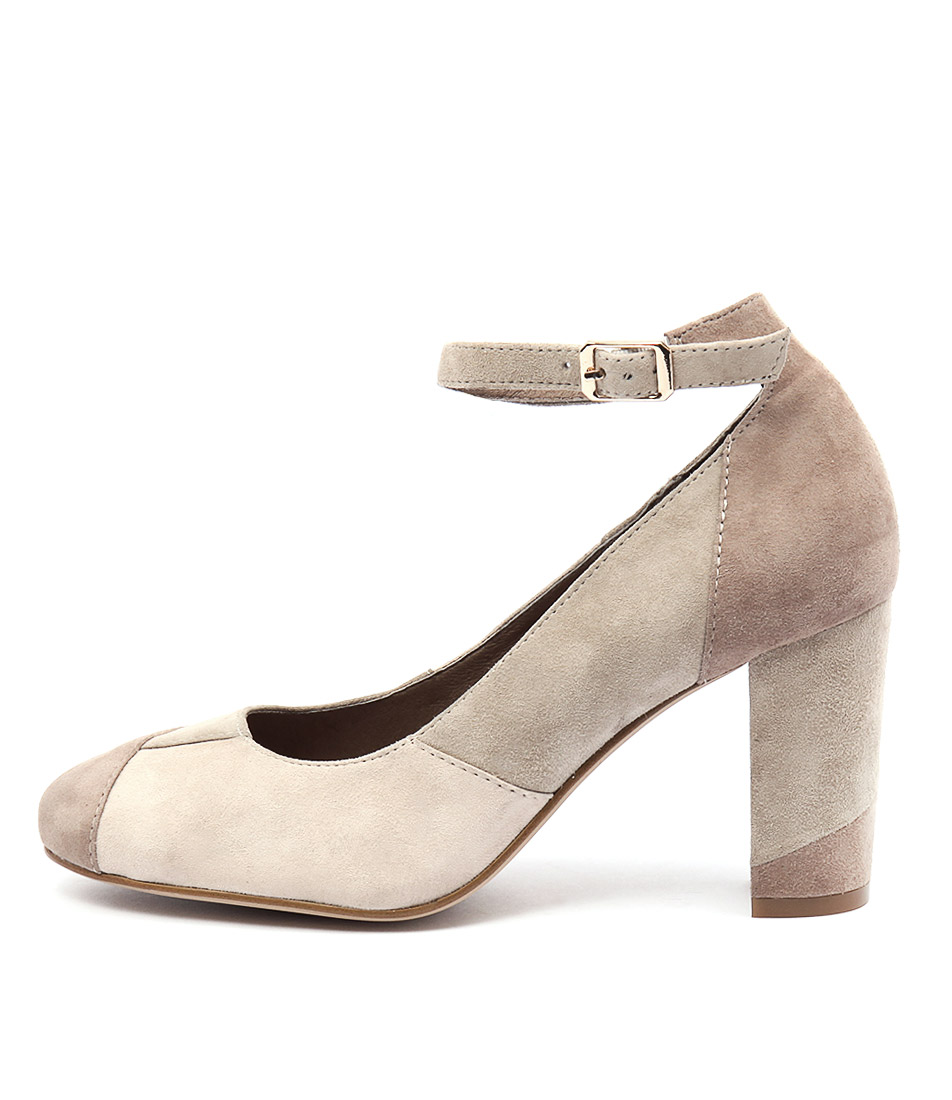 Top End Macau Taupe Multi Shoes