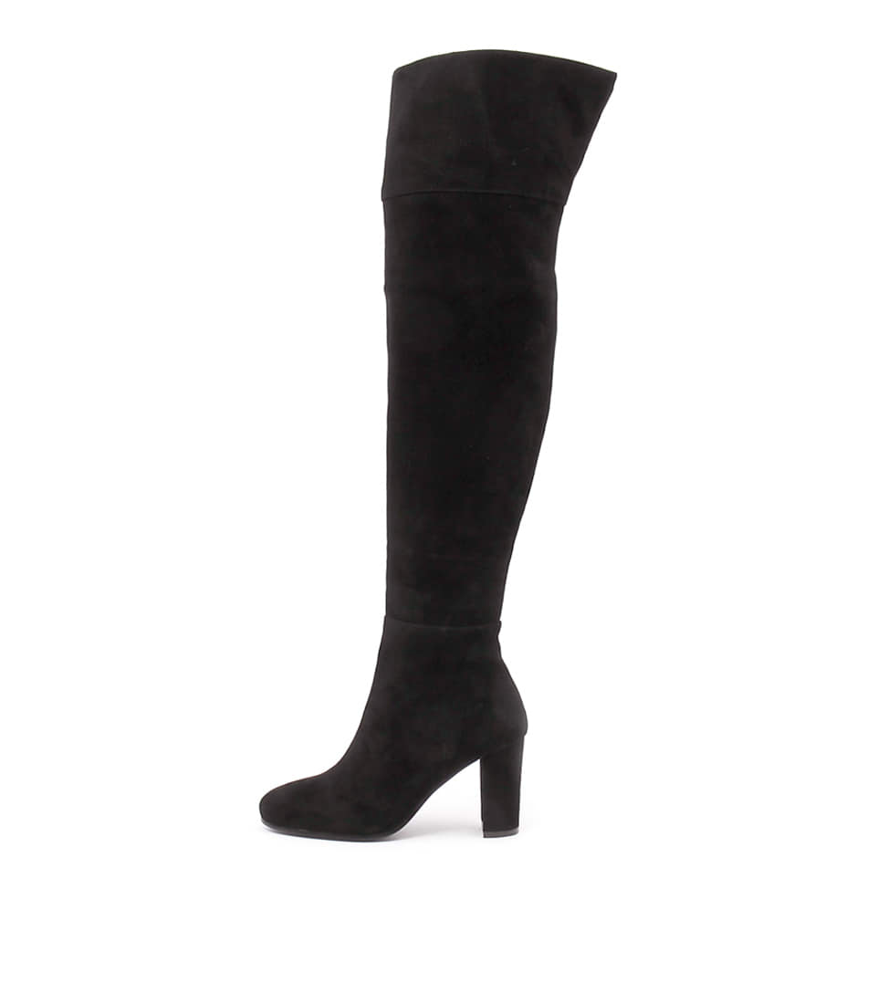 Top End Macia Black Boots