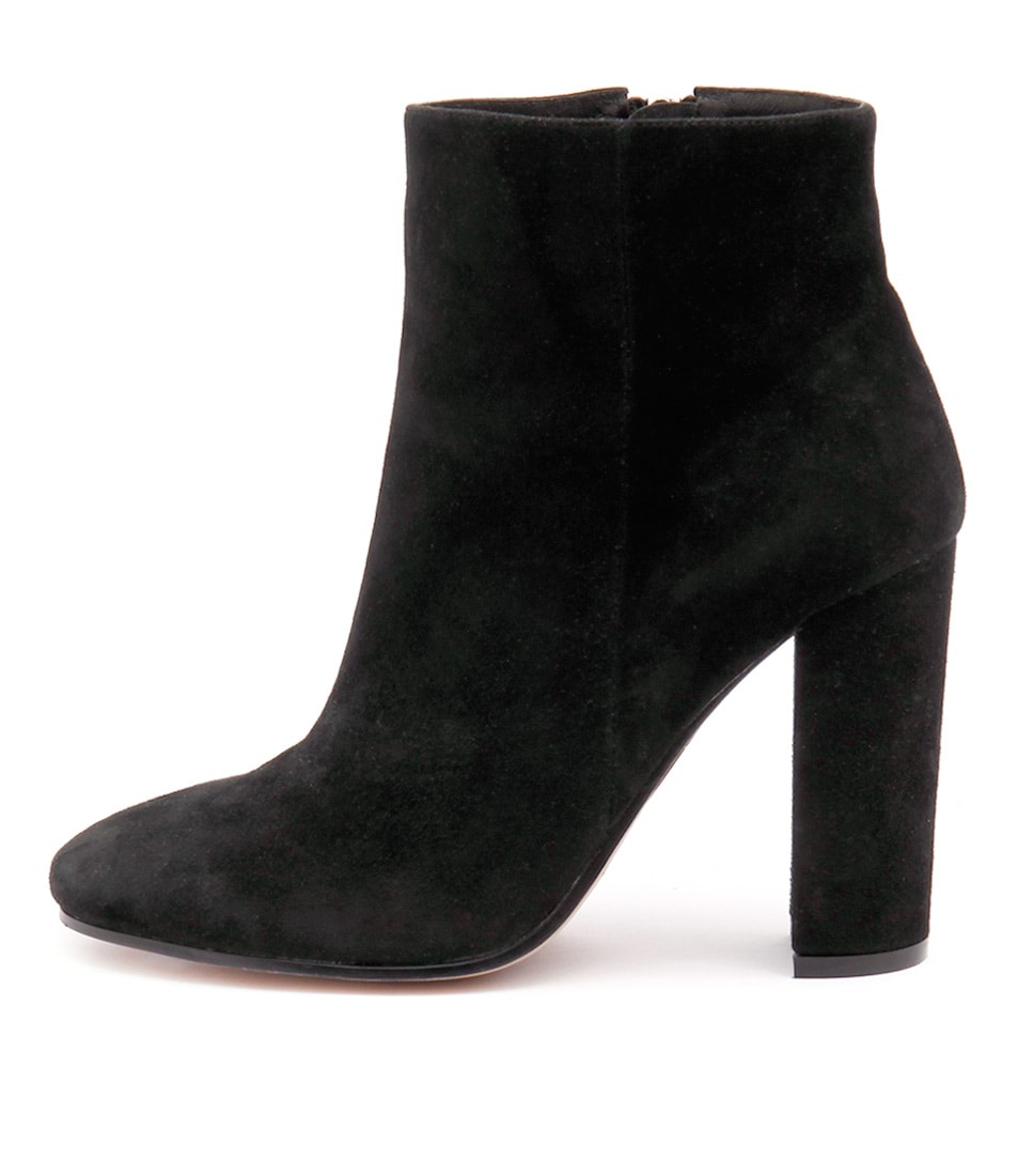 Top End Sevant Black Ankle Boots