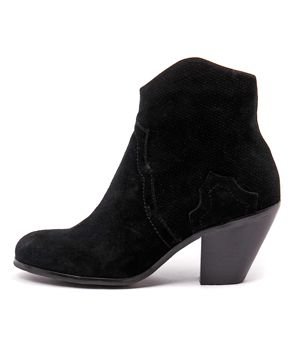 Top End Tolive Black Casual Ankle Boots buy  online