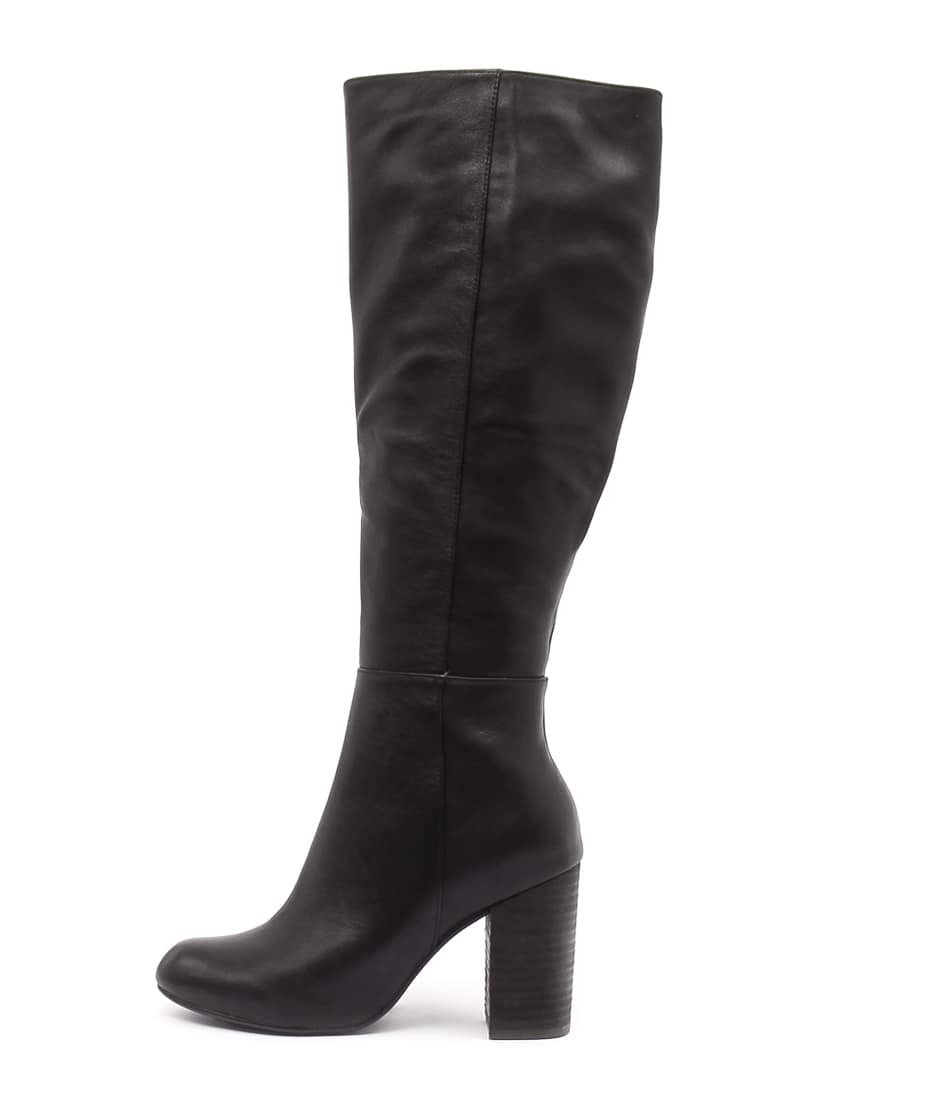 Top End Yoosay Black Boots