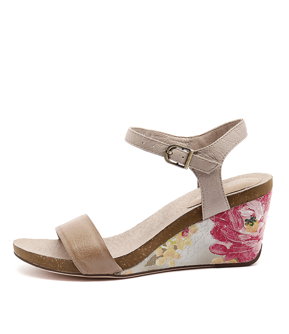 Top End Rollo To Mushroom Latte Sandals