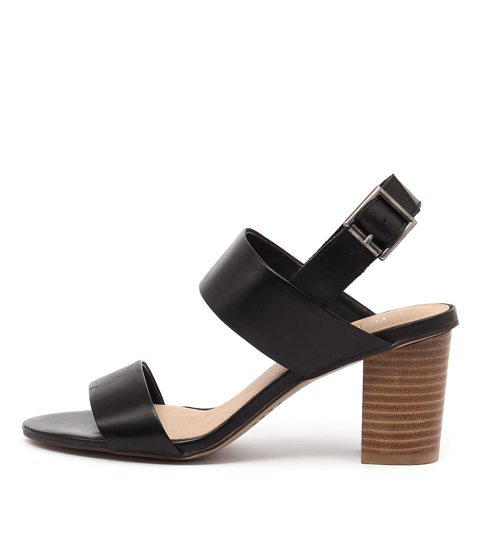 Top End Lolta Black Sandals
