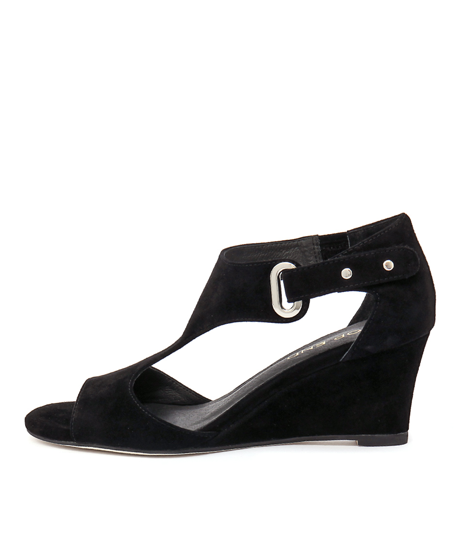 Top End Unibell Black Sandals
