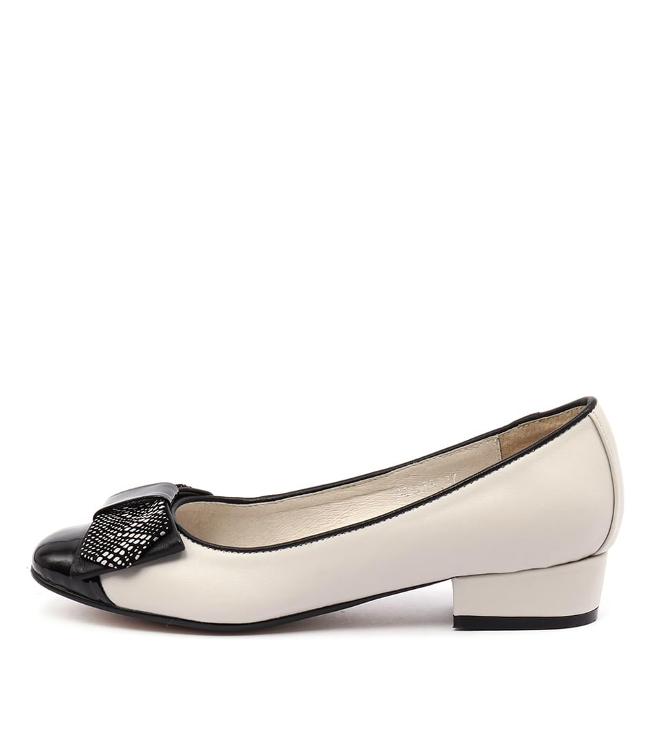 Top End Areless Black Beige Shoes
