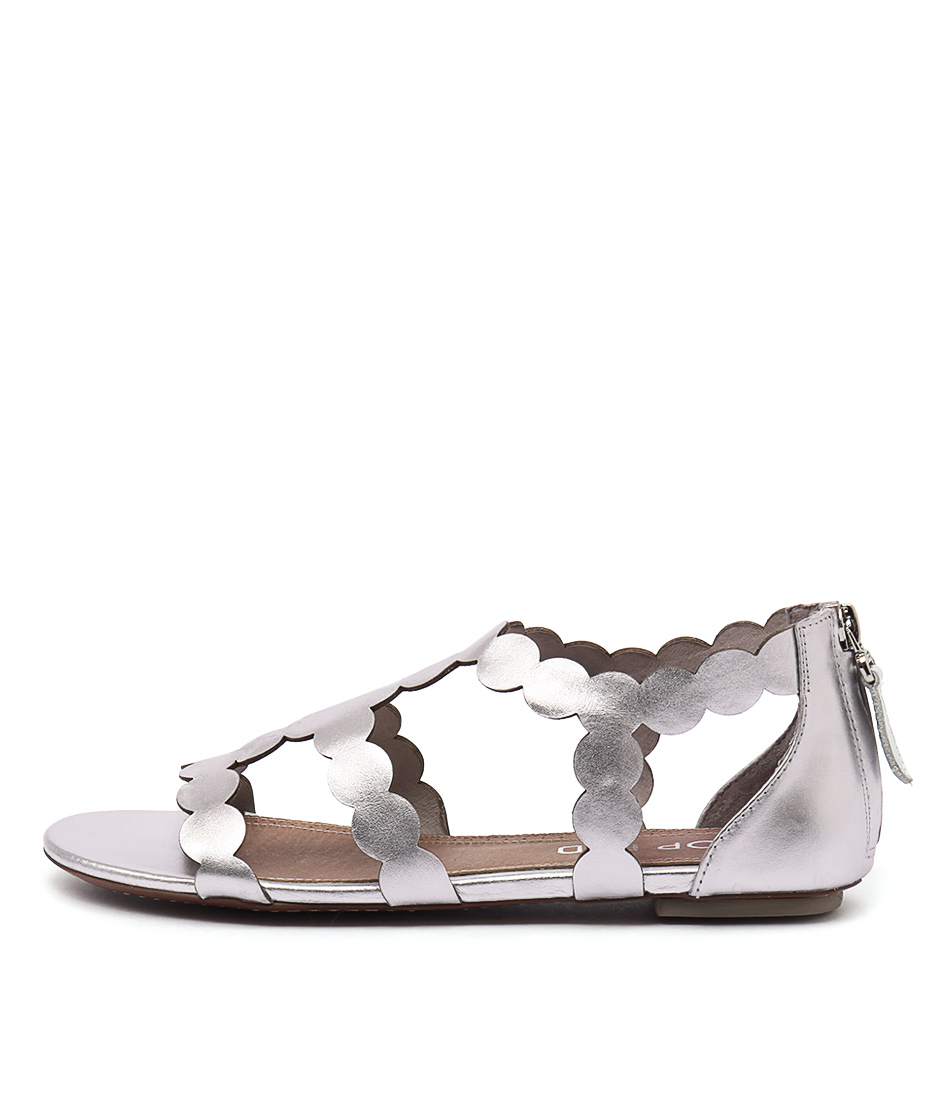Top End Pless Silver Sandals