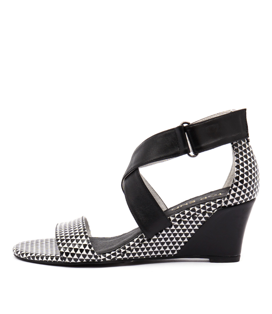 Top End Uplead Black & White Black Sandals
